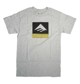 Emerica Emerica Combo T-shirt - Grey/Heather (size Small)