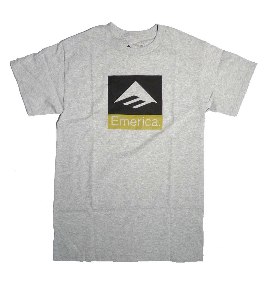 Emerica Emerica Combo T-shirt - Grey/Heather