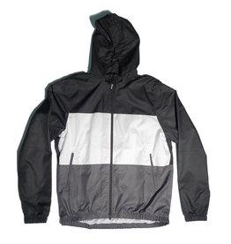Nike SB Nike sb Dri-Fit Hooded Striped Jacket - Black/White/Dark Grey