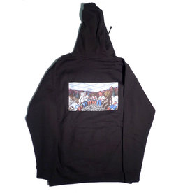 Pyramid Country Pyramid Country Gang's All Here Hoodie - Black (size Medium)