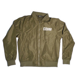 Pyramid Country Pyramid Country Bomber Jacket - Green (size X-Large)