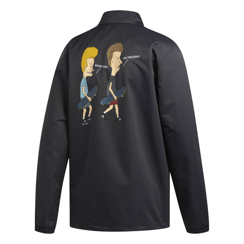 Adidas Adidas Beavis & Butthead Jacket - Black/Multi