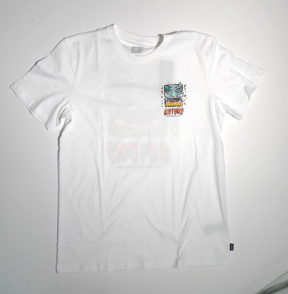 Adidas Adidas Roanoke T-shirt - White/Pyrite