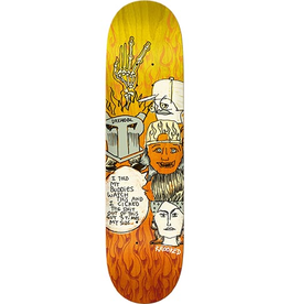 Krooked Krooked Drehobl Watch This Deck - 8.5 FULL