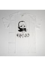 Fancy Lad Fancy Lad Baby Head T-shirt - White (size Medium)