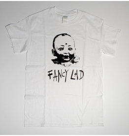 Fancy Lad Fancy Lad Baby Head T-shirt - White