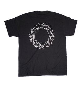 Loophole Wheels Loophole Glen Fox T-shirt - Black