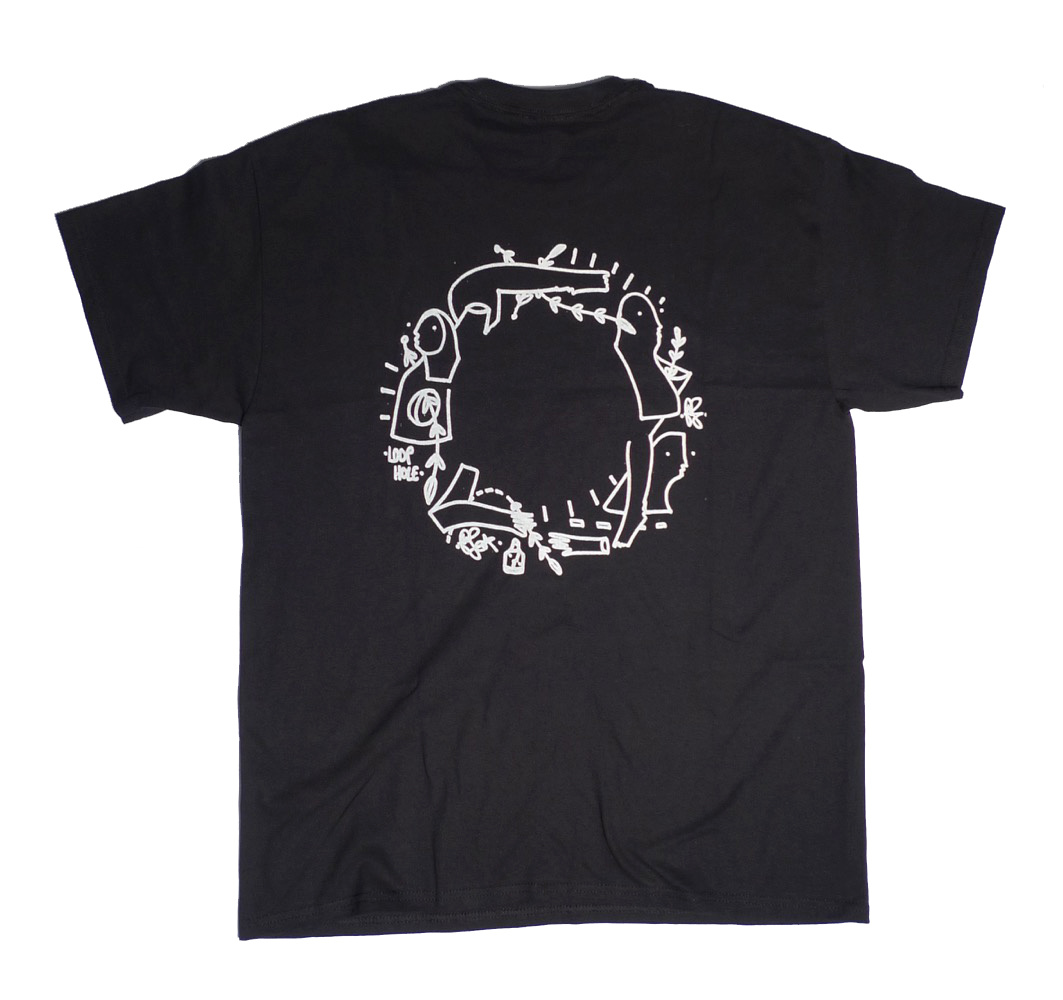 Loophole Wheels Loophole Glen Fox T-shirt - Black