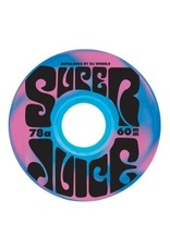 OJ wheels OJ Super Juice Blue/Pink Swirl 60mm 78a Wheels (set of 4)