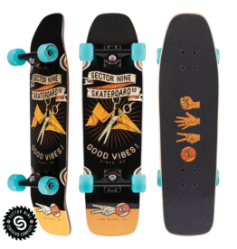 Sector 9 Sector 9 Roshambo Ninety Five Complete 8.375 x 30.5