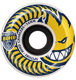 Spitfire Spitfire 80hd charger conical White/Yellow 54mm wheels (set of 4)