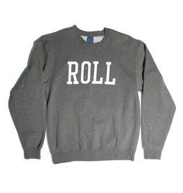 Real Real Roll Crewneck - Grey (size Medium)