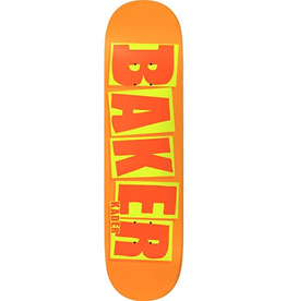 Baker Baker Kader Brand Name Orange Deck - 8.5 x 32.25 (SQUARED)