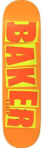 Baker Baker Kader Brand Name Orange Deck - 8.5 x 32.25 (SQUARED)