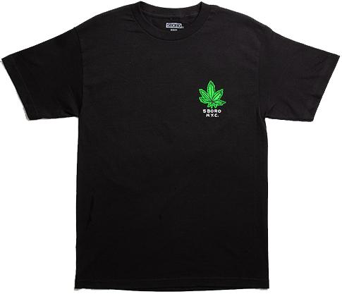 5 Boro 5 Boro Stoned Again T-shirt - Black