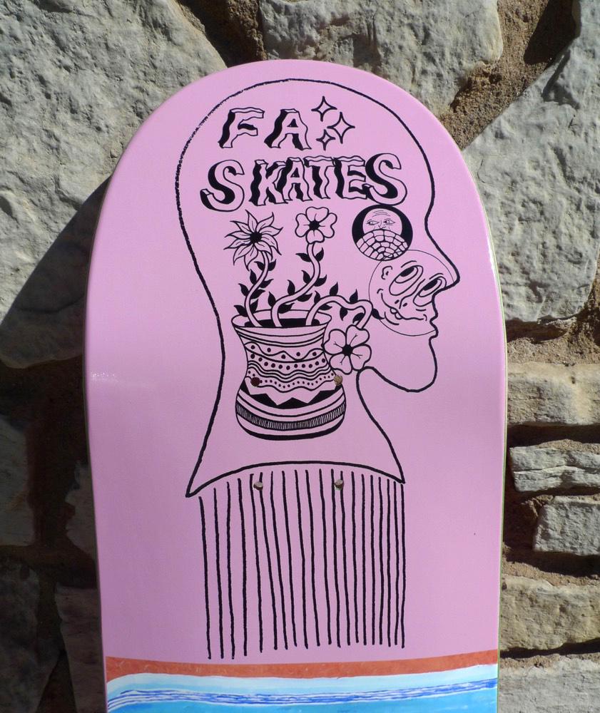 FA skates FA Nonsense N.Bone Deck