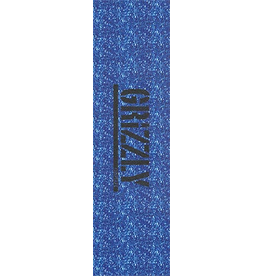 """Grizzly Grizzly 9"""" Blue Glitter Perforated Grip Sheet"""