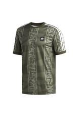 Adidas Adidas Dakari Jersey - Night Cargo/Raw Khaki-White  (size Medium or Large)