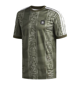 Adidas Adidas Dakari Jersey - Night Cargo/Raw Khaki-White (size Medium or Large)