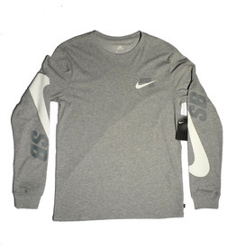 Nike SB Nike sb Longsleeve T-shirt - Heather Grey (size Medium)