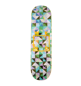 WKND brand WKND Tessellation Logo Flatty Green Deck - 8.5