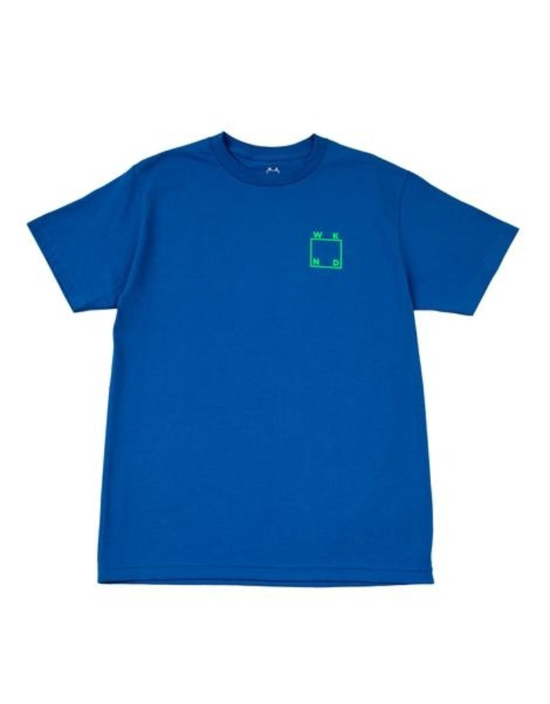 WKND brand WKND Logo T-shirt - Royal (size Medium or X-Large)