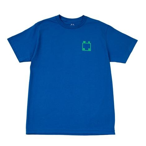WKND brand WKND Logo T-shirt - Royal