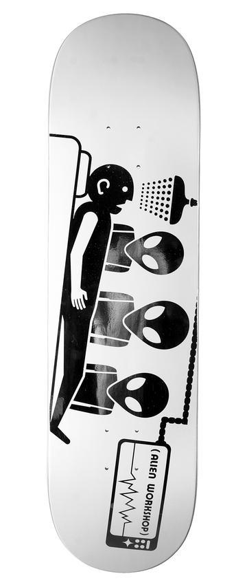 Alien Workshop Alien Workshop Abduction 3D Foil Deck - 8.0 x 31.5