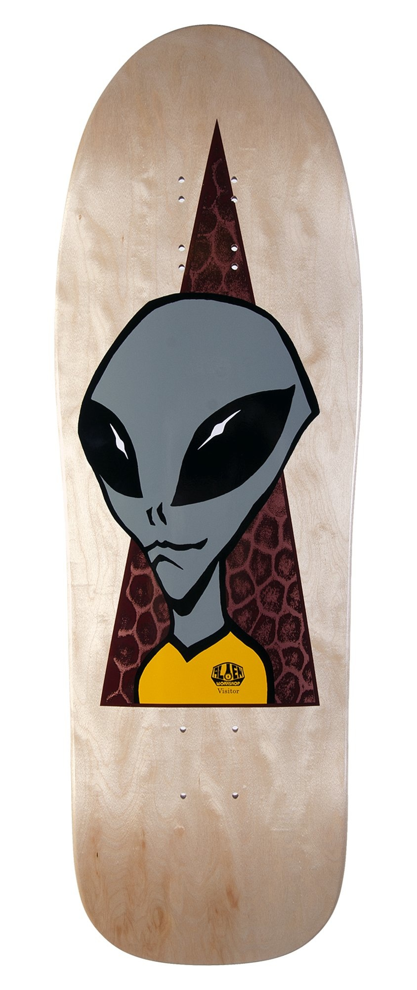 Alien Workshop Alien Workshop Visitor 1990 Reissue Deck - 9.675 x 31.675
