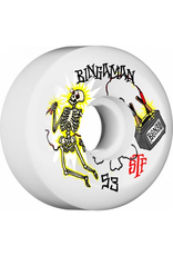 Bones Wheels Bones STF Bingaman Zapped Sidecuts 53mm 103a Wheels (set of 4)
