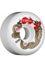 Bones Wheels Bones SPF Russell Snake Bite Sidecuts 54mm 104a Wheels (set of 4)