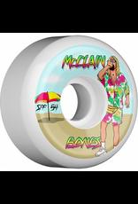 Bones Wheels Bones SPF McClain Beach Bum Sidecuts 55mm 104a Wheels (set of 4)