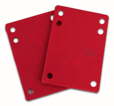 Shock Pads 1/8 Red