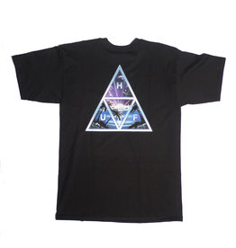 Huf Worldwide Huf Space Beach TT T-shirt - Black (size Large)