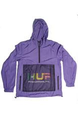 Huf Worldwide Huf Productions inc. Anorak - Ultra Violet (size Medium)