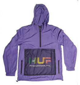 Huf Worldwide SIHuf Productions inc. Anorak - Ultra Violet (size Medium)