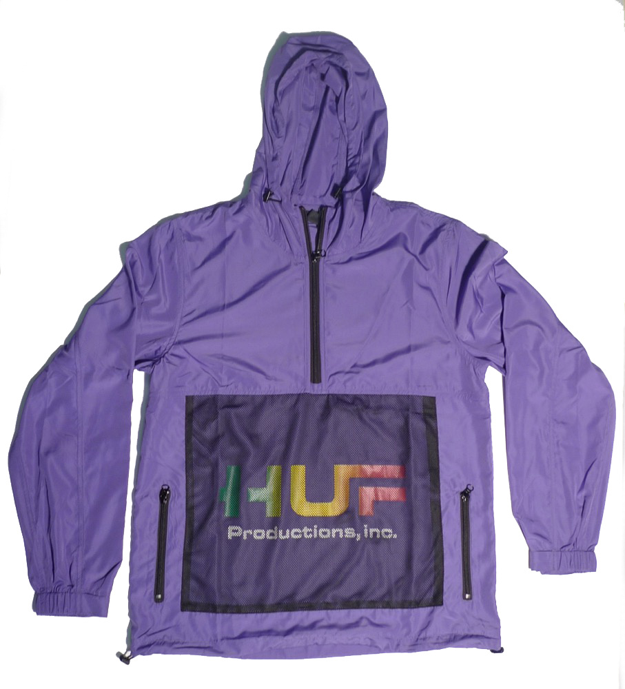 Huf Worldwide Huf Productions inc. Anorak - Ultra Violet