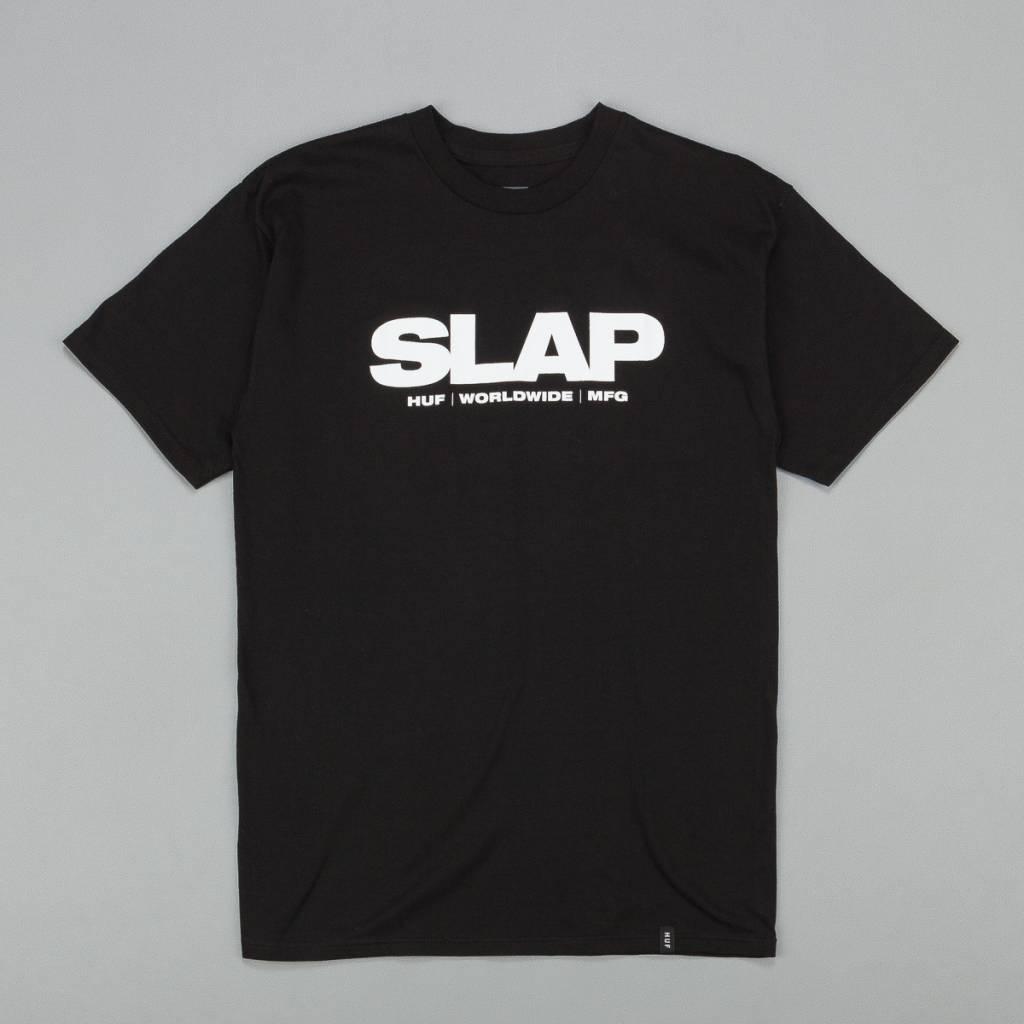 Huf Worldwide Huf (Slap) T-shirt - Black