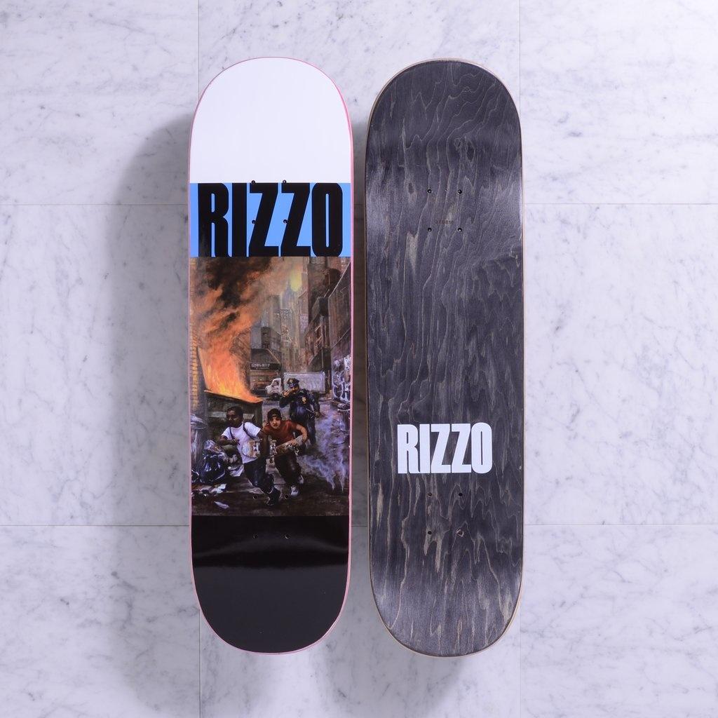 "Quasi Quasi Dick Rizzo Run ""Blue"" Deck - 8.5 x 32.125"