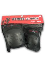 Triple 8 Triple 8 Street 2 Pack (Knee/Elbow) Pads