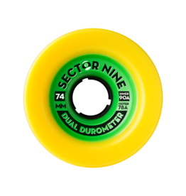 Sector 9 Sector 9  Dual Duro 74mm 78a out/90a in Wheels (set of 4)