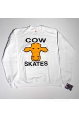 Dear Skating Dear Ohio Cow Skates Crewneck - White