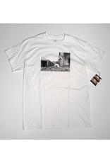 Dear Skating Dear Ohio Dyrdek Smoking Girl T-shirt - White (size Medium)