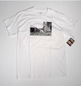 Dear Skating Dear Ohio Dyrdek Smoking Girl T-shirt - White