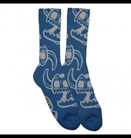 Toy Machine Toy Machine Monster Skull Blue Socks