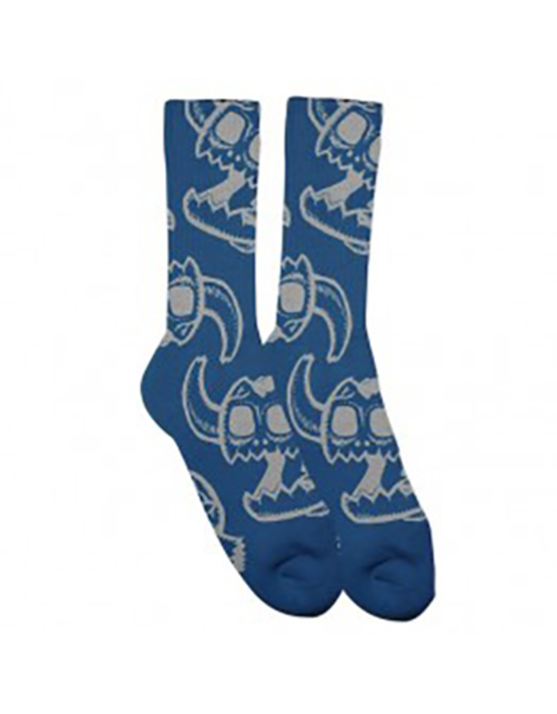 Toy Machine Toy Machine Monster Skull Blue Socks