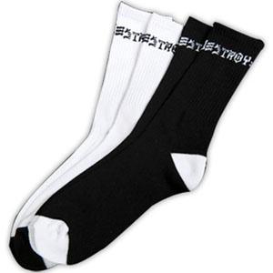 Thrasher Mag Thrasher Skate and Destroy Socks 2 pack