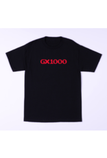 GX1000 GX1000 OG Logo T-shirt - Black/Red