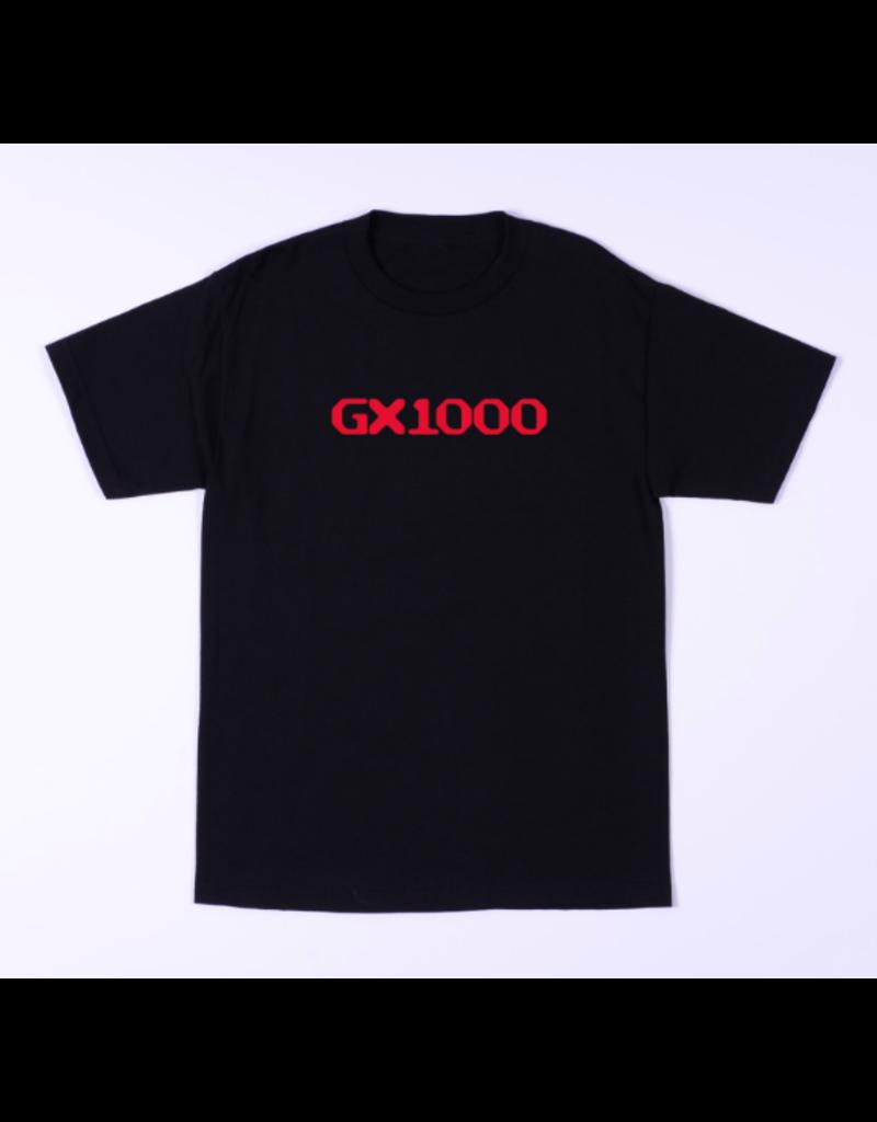 GX1000 GX1000 OG Logo T-shirt - Black/Red