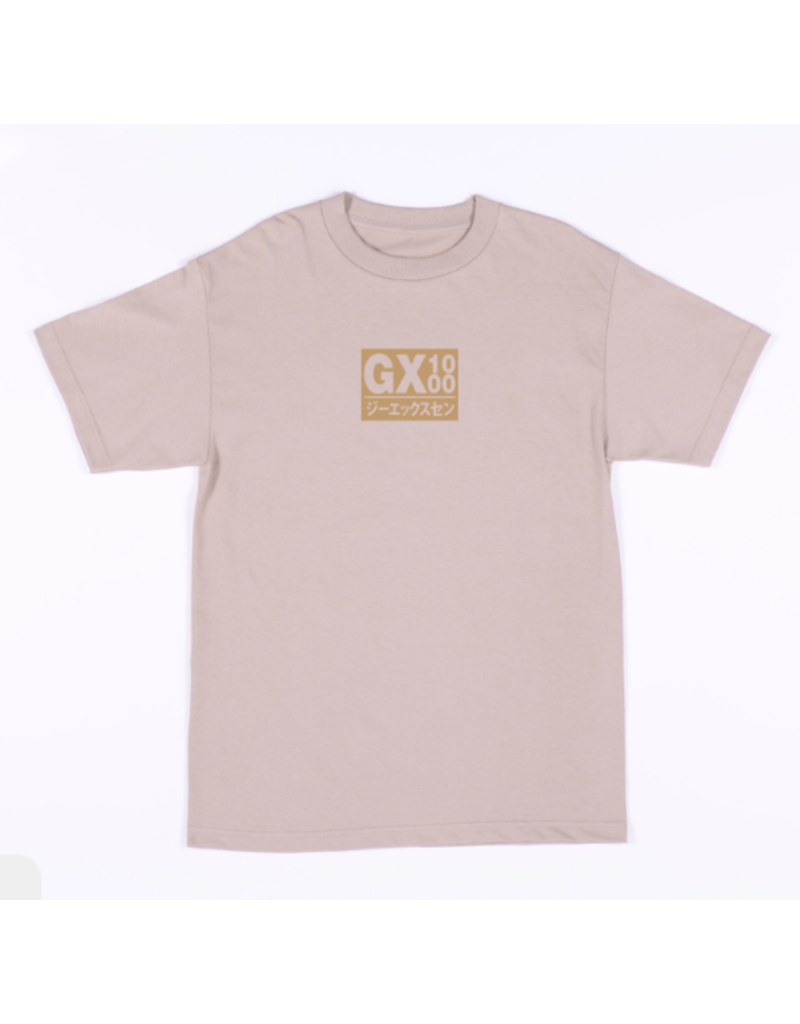 GX1000 GX1000 Japan T-shirt - Sand  (size Medium)